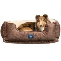 "40% off 34"" x 24"" Serta Perfect Sleeper Orthopedic Cuddler Pet Bed"