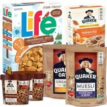 40% off 6-Pack Quaker Seasonal Breakfast Bundle + Free Shipping