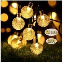 40% off ALOVECO Solar String Lights Outdoor
