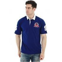 40% off Blue Short Sleeve Rugby Shirt