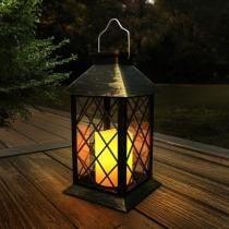 40% off Lavish Home 13.25 Inch Lamp w/ Solar LED Candle