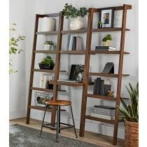 $40 off Mainstays Sumpter Park Ladder Bookcase Desk + Free Shipping