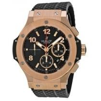 41% off HUBLOT Big Bang 18kt Rose Gold Black Dial Black Rubber Men's Watch