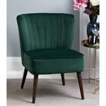 41% off Roxy Cocktail Chair - Green Velvet