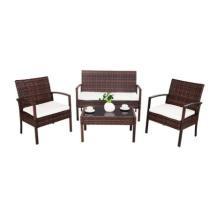 42% off 4-Pc Rattan Patio Furniture Set