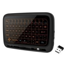 42% off H18+ 2.4GHz Full Touchpad Wireless Backlight QWERT Keyboard + Free Shipping