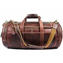 43% off Aaron Leather Travel Duffel Bag