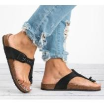 44% off Cork Strap T Sandals + Free Shipping
