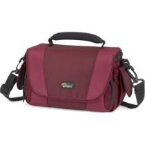 44% off Lowepro Edit 130 Camera Bag - Bordeaux Red