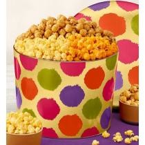44% off Mother's Day Dots Popcorn Tin