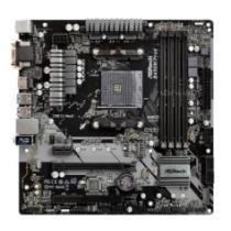 $45 off ASRock B450M SATA 6Gb/s USB 3.1 HDMI Micro ATX AMD Motherboard