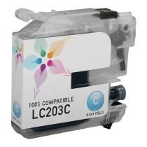 45% off Brother LC203C High Yield Cyan Compatible Ink Cartridge