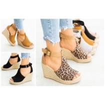 45% off Chic Espadrille Wedges