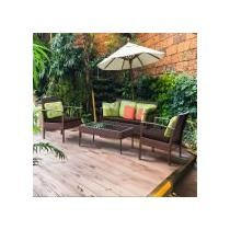 45% off Costway 4-Piece Patio Rattan Wicker Furniture Set + Free Shipping