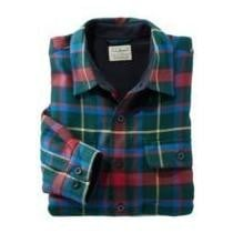 46% off Men's Fleece-Lined Flannel Shirt