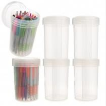 47% off 6pk Super Stacker 30oz Plastic Storage Containers w/ Dividers + Free Shipping