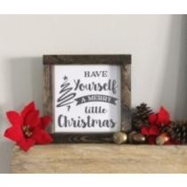 47% off Christmas Wood Plaque Collection