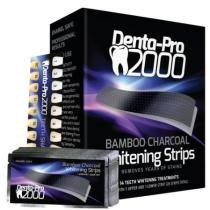 47% off Dentapro2000 Activated Charcoal Teeth Whitening Strips + Free Shipping
