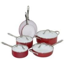 47% off Oneida 10-Piece Aluminum Cookware Set