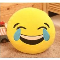 48% off Emoji Round Pillows + Free Shipping