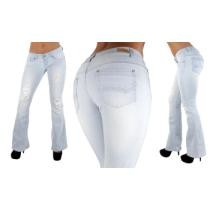 49% off 80001 - The Sexy Flare by Fashion2Love, Ripped Premium Flare Jeans