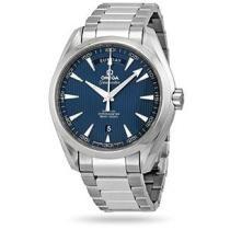 49% off Omega Aqua Terra Blue Dial Stainless Steel Men's Watch