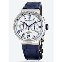 49% off Ulysse Nardin Chronograph Automatic Men's Leather Watch
