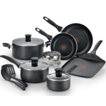 $49 T-Fal Easy Care Nonstick 12-Piece Set + Free 2-Day Shipping
