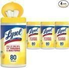 4pk of Lysol Disinfecting Wipes