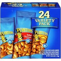 5% off 24-Count Planters Nuts Variety Pack w/ Subscribe & Save Checkout + Free Shipping
