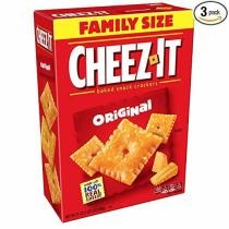 5% off 3-Pack Cheez-It Baked Snack Cheese Crackers w/ Subscribe & Save Checkout + Free Shipping