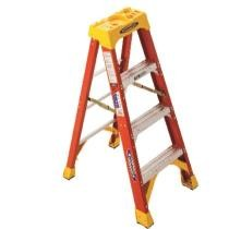 $5 off Werner 4 ft. H x 19.88 in. W Fiberglass Step Ladder