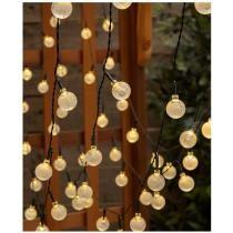 50-Bulb Solar String Lights Now $9.99
