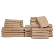 50% off 24-Piece Baltic Linen Luxury Towel Set