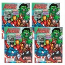 50% off 4-Pack Avengers Superhero Coloring Books by Marvel w/ Masks + Free Shipping