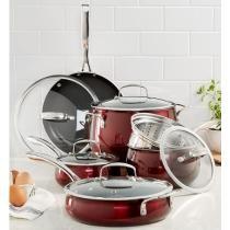 50% off Belgique 11 Pc. Cookware Set
