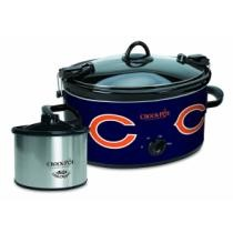 50% off Crock-Pot Chicago Bears NFL Cook & Carry Slow Cooker w/ Bonus Little Dipper Food Warmer + Free Shipping