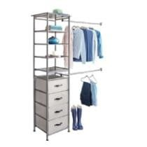 50% off iDesign Modular Closet Storage System