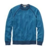 50% off Men's Cotton or Coolmax Performance Crewneck Sweater