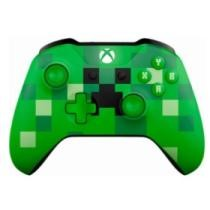 50% off Microsoft Xbox One Bluetooth Wireless Controller - Minecraft Creeper