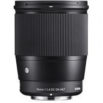 $50 off Sigma 16mm f/1.4 DC DN Contemporary Lens for Sony + Free SanDisk Extreme PRO 64GB Memory Card