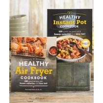 50% off The Healthy Air Fryer or Instant Pot Cookbooks
