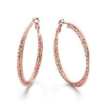 50% off Viennois Double Circles Round Hoop Earrings
