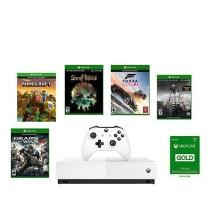 $50 off Xbox One S 1TB All-Digital Edition Console Bundle w/ 5 Games + Free Shipping