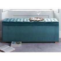 51% off Ascot Storage Ottoman Celadon - Blue Velvet