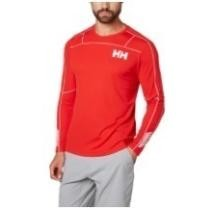 51% off Helly Hansen Men's Lifa Active Light Long-Sleeve Base Layer Top