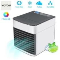 51% off Mini Air Conditioner Fan USB Air Cooler + Free Shipping