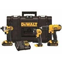 52% off DeWalt 20V MAX 3-Tool Combo Kit w/ ToughSystem Case