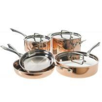 53% off 8-Piece Cuisinart Copper Cookware Set