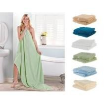 53% off Cheer Collection Oversized Luxury Cotton Soft Bath Sheet Towels